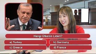 KORELİ ve JAPONLARA ÜLKE LİDERLERİNİ SORDUK ??? /Asyalıların Tepkisi