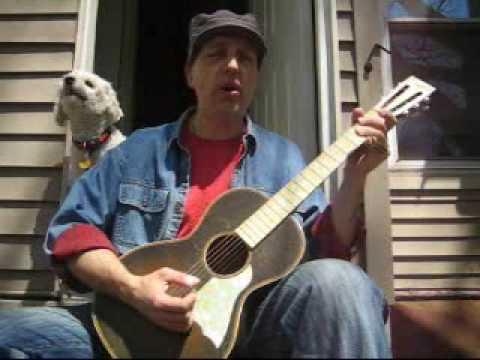 How To Play Fishin' Blues Henry Thomas Taj Mahal Bottleneck Blues Slide Guitar