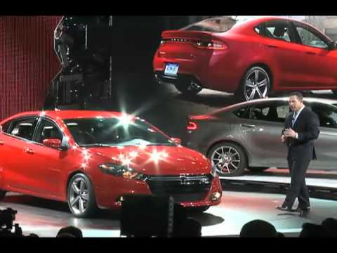 2013 Dodge Dart Reveal from the North American International Auto Show