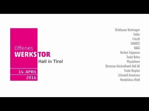 12 Betriebe, 6 Touren und 600 Besucher - das war das Offene Werkstor Hall in Tirol 2016
