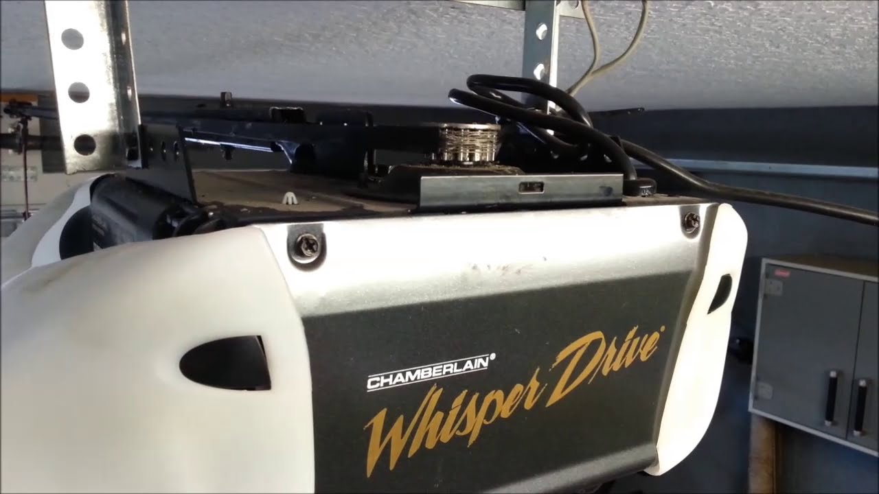 Chamberlain Chain Drive Garage Door Opener Troubleshooting