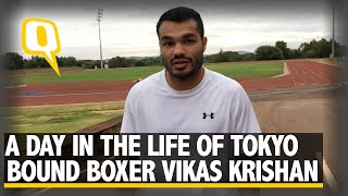 A Day in the Life of Indian Boxer Vikas Krishan | The Quint