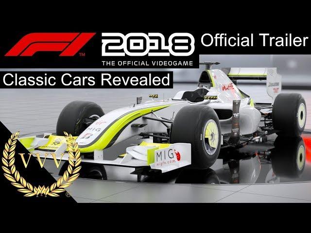 F1 2018 Classic Cars Trailer