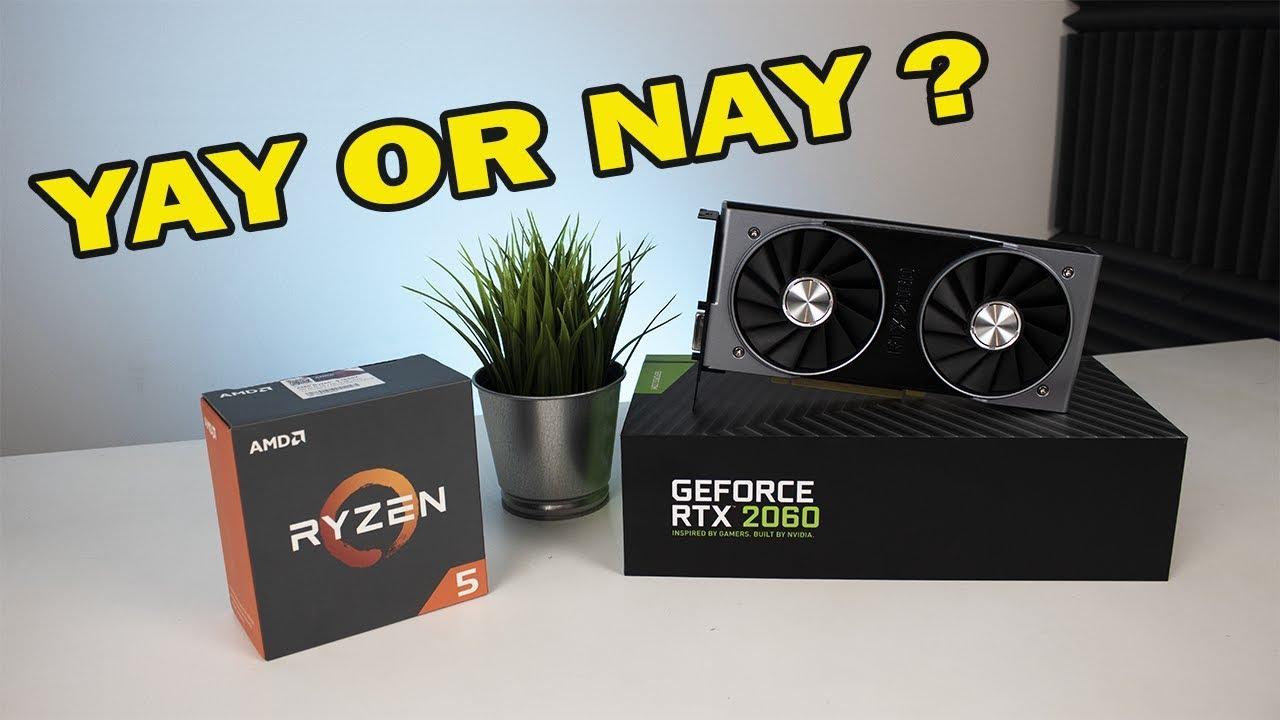 Ryzen 1600X + RTX 2060 / Ma to sens ? / Testy w 1080p i 1440p