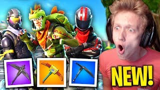 *NEW* WEAPONS, SKINS, BACKPACKS & MORE COMING to Fortnite: Battle Royale! (New Update)