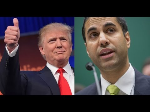 HUGE: PRESIDENT TRUMP APPOINTS INTERNET FREEDOM ADVOCATE AJIT PAI TO HEAD THE FCC.