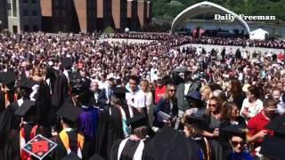 Marist College graduation 2015
