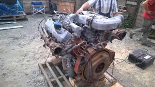Запуск двигателя в сборе F17E Hino c замерами давления масла(Автобус/Легковой/Грузовик/ Hyundai: Grace - D4BF D4BA D4BX.С электронным ТНВД, с механическим ТНВД. Starex - D4BH D4BB D4BF D4CD 145..., 2015-07-23T07:24:36.000Z)
