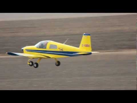 [HD] American Aviation (Grumman) AA-1 Yankee Clipper Takeoff CSU3