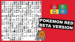 Pokemon Red/Green beta design