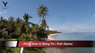 Beach Party in Bang Po / Koh Samui / Thailand