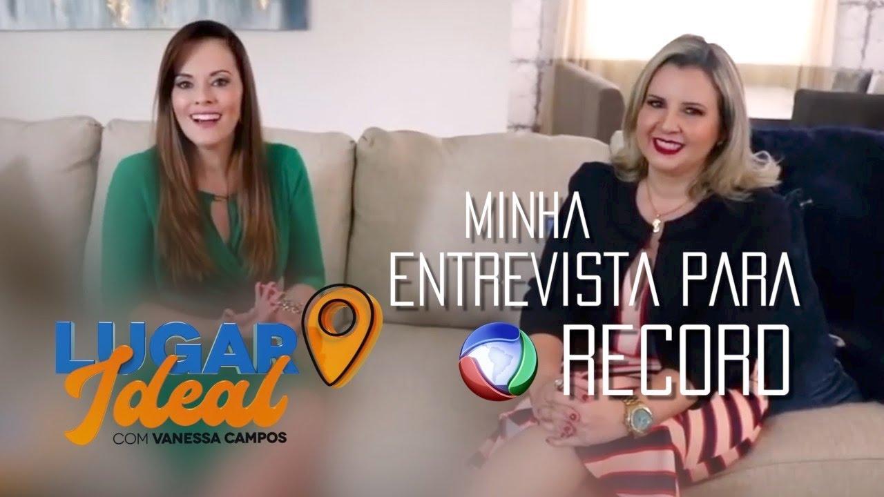 Entrevista à TV Record