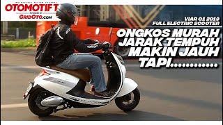 Motor Listrik Viar New Q1 Buat Harian, Jarak Tempuh Makin Jauh Tapi... L Test Ri