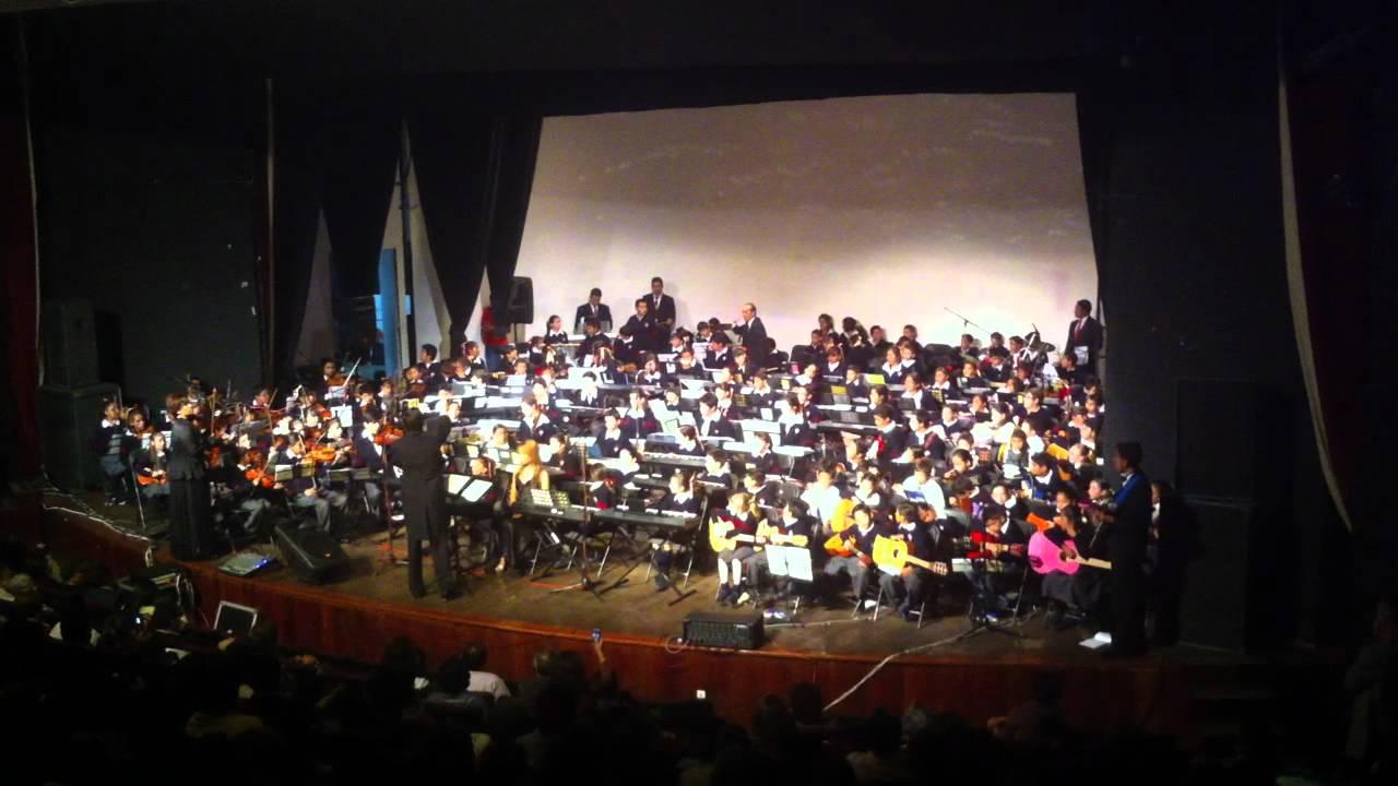 Orquesta Sinfónica Instituto Simón Bolívar, Toluca - YouTube
