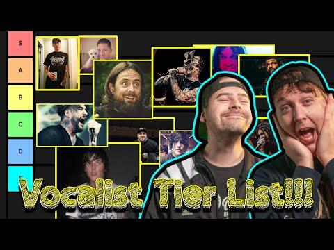 Deathcore Vocalist Tier List Pt  1