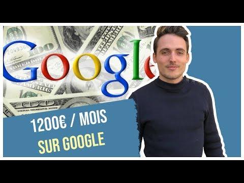 GAGNER 1200€ par Mois avec GOOGLE (Argent Facile et Rapide - 2019)