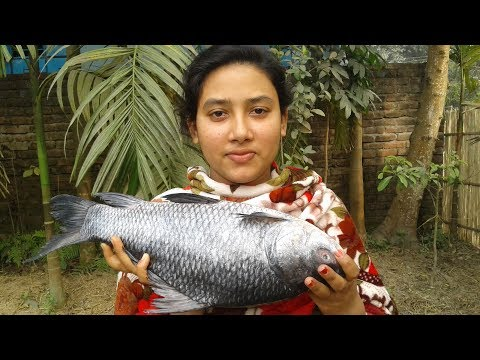 Katla Macher Jhal | Bengali Fish Recipe | Fish Curry | Cooking By Street Village Food