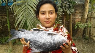 Katla Macher Jhal | Bengali Fish Recipe | Fish Curry | Cooking By Street Village Food