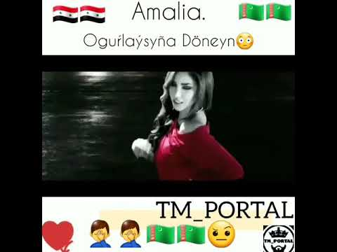 Amalia..Ogurlyk Aydymlary.😊😊😊😊 Instagramda tm_portal