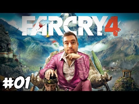 "FAR CRY 4 Walkthrough Gameplay Ep 01 - ""I'm Not In Bulgaria Any More!!!"""