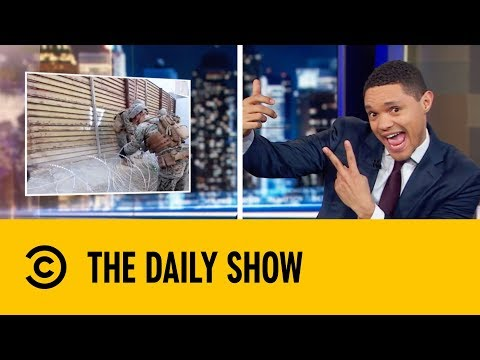 Mexico Is Stealing The Border Wall | The Daily Show with Trevor Noah thumbnail