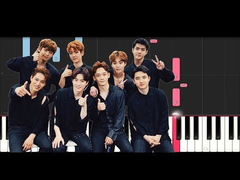 Exo - The Eve (Piano Tutorial)