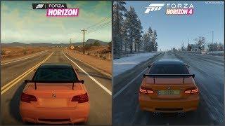 Forza Horizon vs Forza Horizon 4 - 2010 BMW M3 GTS Sound Comparison