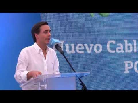 Así fue el lanzamiento del cable submarino de Telefónica Movistar PCCS