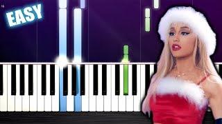 Ariana Grande - thank u, next - EASY Piano Tutorial by PlutaX
