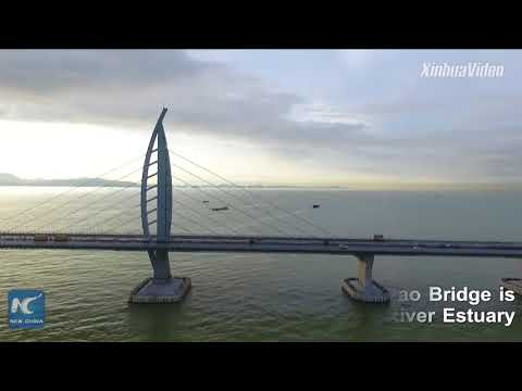 Macao border zone of world's longest sea bridge handed over to Macao