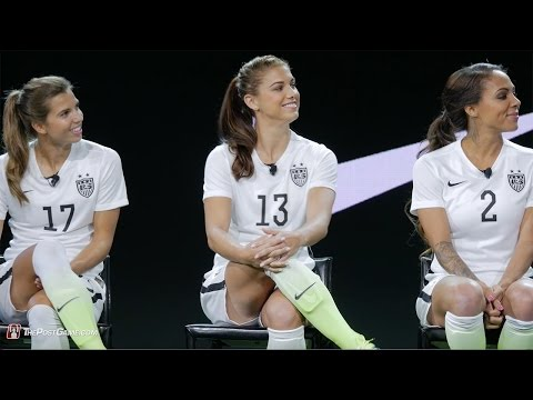 Nike Introduces New USWNT Soccer Kits with Alex Morgan, Sydney Leroux, and Tobin Heath