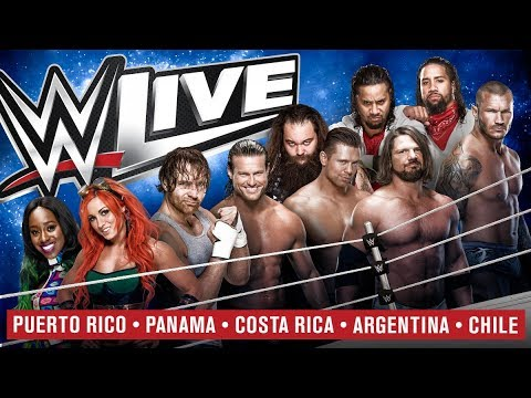 WWE LIVE PANAMA 10/JUN/2017