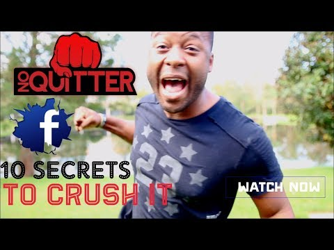 10 Secrets To Crush Your Facebook Marketing