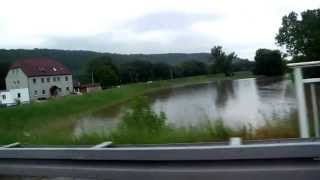 01. Juni 2013 Hochwasser Bad Kösen