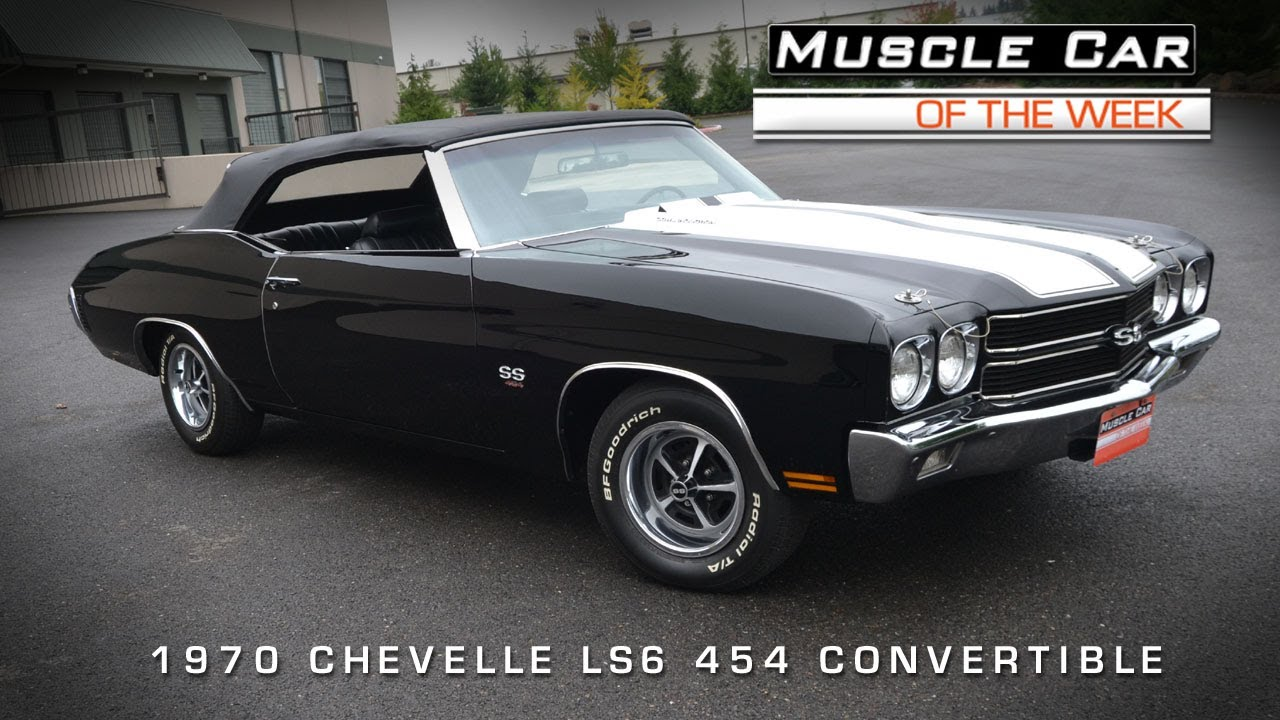 Muscle Car Of The Week Video #44: 1970 Chevrolet Chevelle SS LS6 454