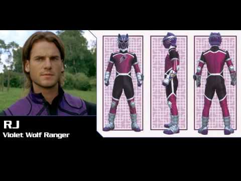 David de lautour r j purple wolf jungle fury ranger not - Power rangers megaforce jungle fury ...