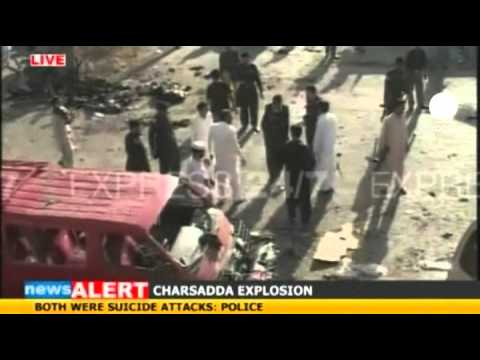 Scores Killed In Pakistan Suicide Bomb Blasts
