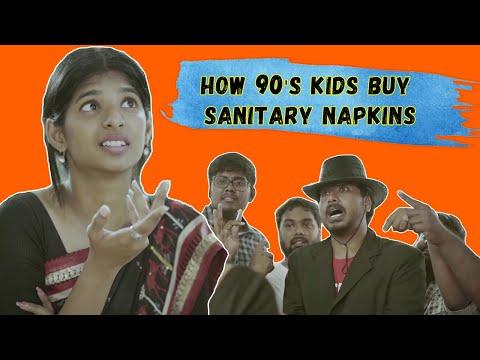 How 90's Kids Buy Sanitary Napkins Ft.NYK, Dipshi, Rahul   OMG E09   Put Chutney