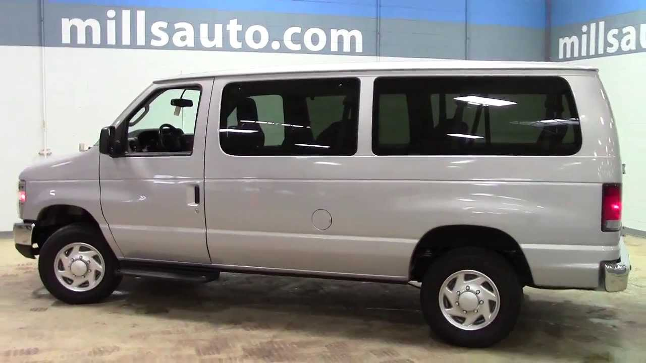medium resolution of 2013 ford econoline e 350 super duty 12 passenger van xlt 1u130246 youtube