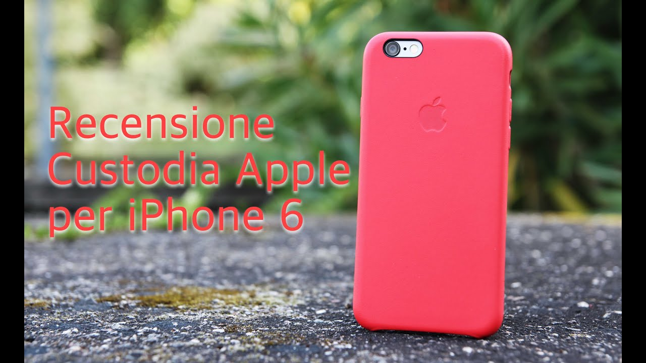 custodia apple in pelle per iphone