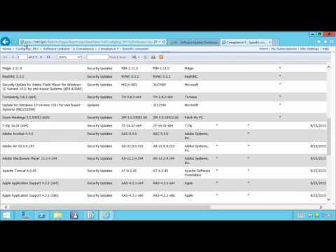 SCCM Software Update Reports - Patch My PC SCUP Catalog