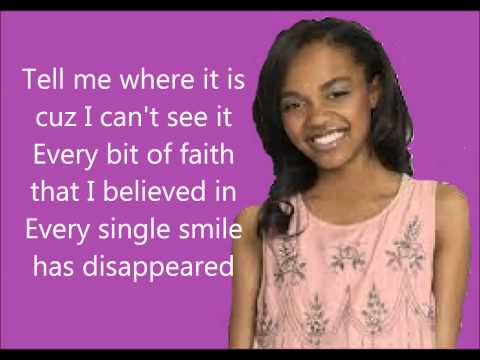 How did i get there from here-China Anne McClain lyrics