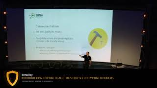 TR19: Introduction to Practical Ethics for Security Practitioners