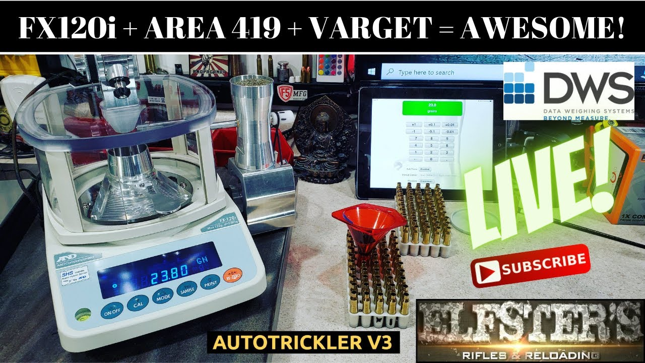 LIVE! FX12Oi + AREA419 UPGRADES + VARGET