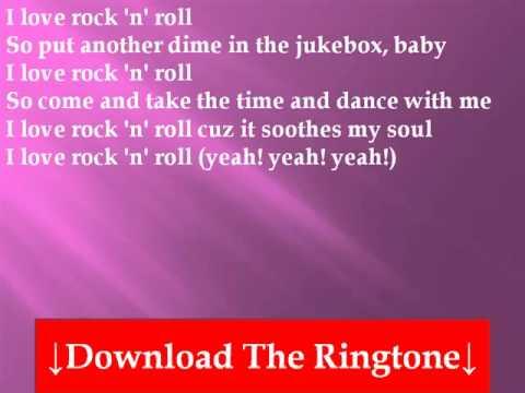 Britney Spears - I Love Rock 'N' Roll Lyrics - YouTube