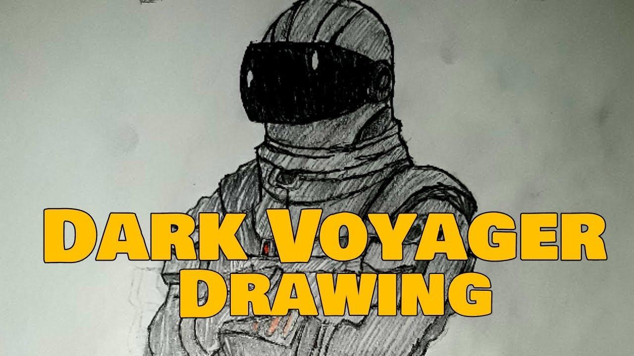 FORTNITE: DARK VOYAGER DRAWING!