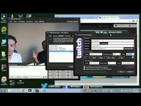 Streaming Tutorial 5/5 - Xsplit Encoder Settings