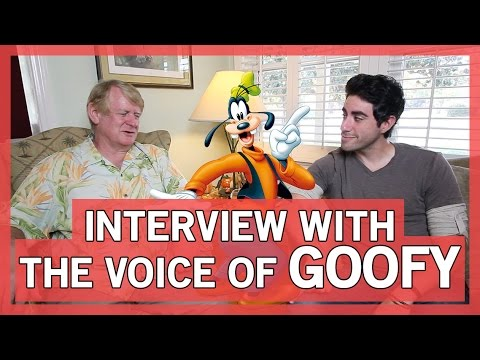 Goofy's Voice - An Interview With Bill Farmer | Thingamavlogs