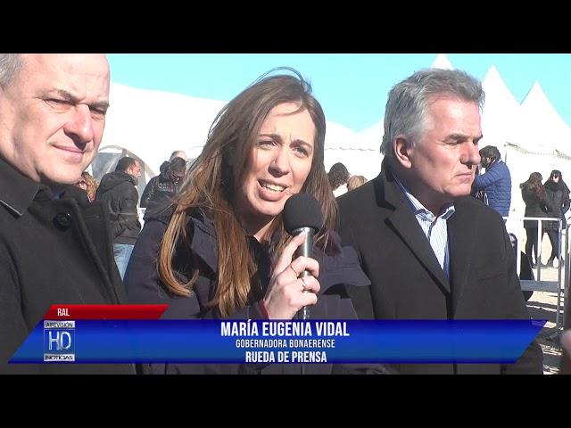 Vidal  Rueda de prensa