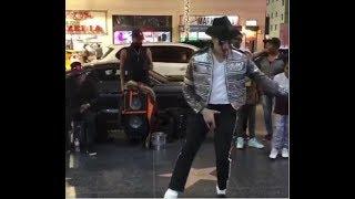 Майкл Джексон танцует кара жорго
